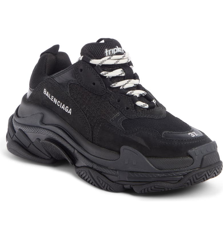 BALENCIAGA Triple S Low Top Sneaker, Main, color, 002