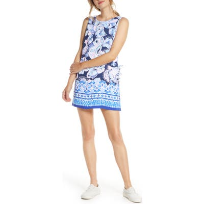 Lilly Pulitzer Donna Romper Dress, Blue