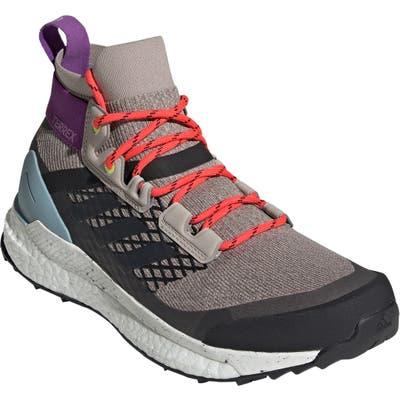 Adidas Terrex Free Hiker Water Repellent Hiking Boot, Grey