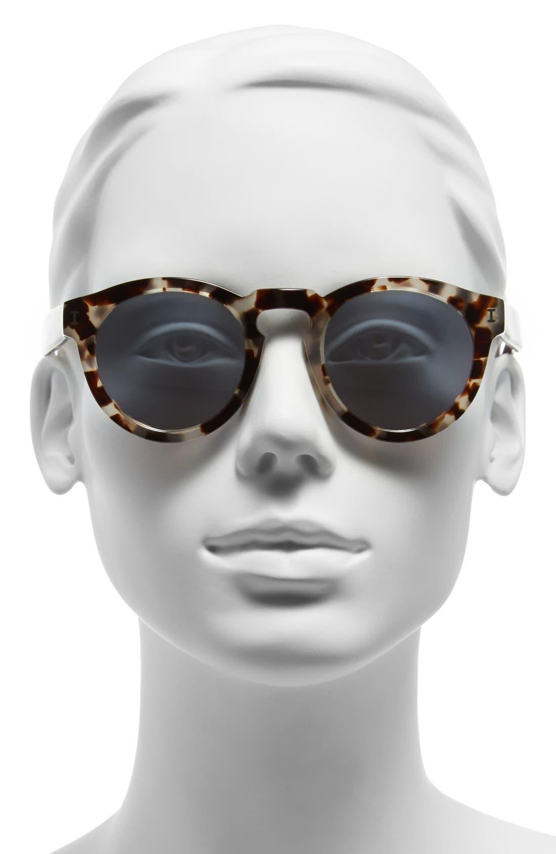 ,                             'Leonard' 47mm Sunglasses,                             Alternate thumbnail 44, color,                             100