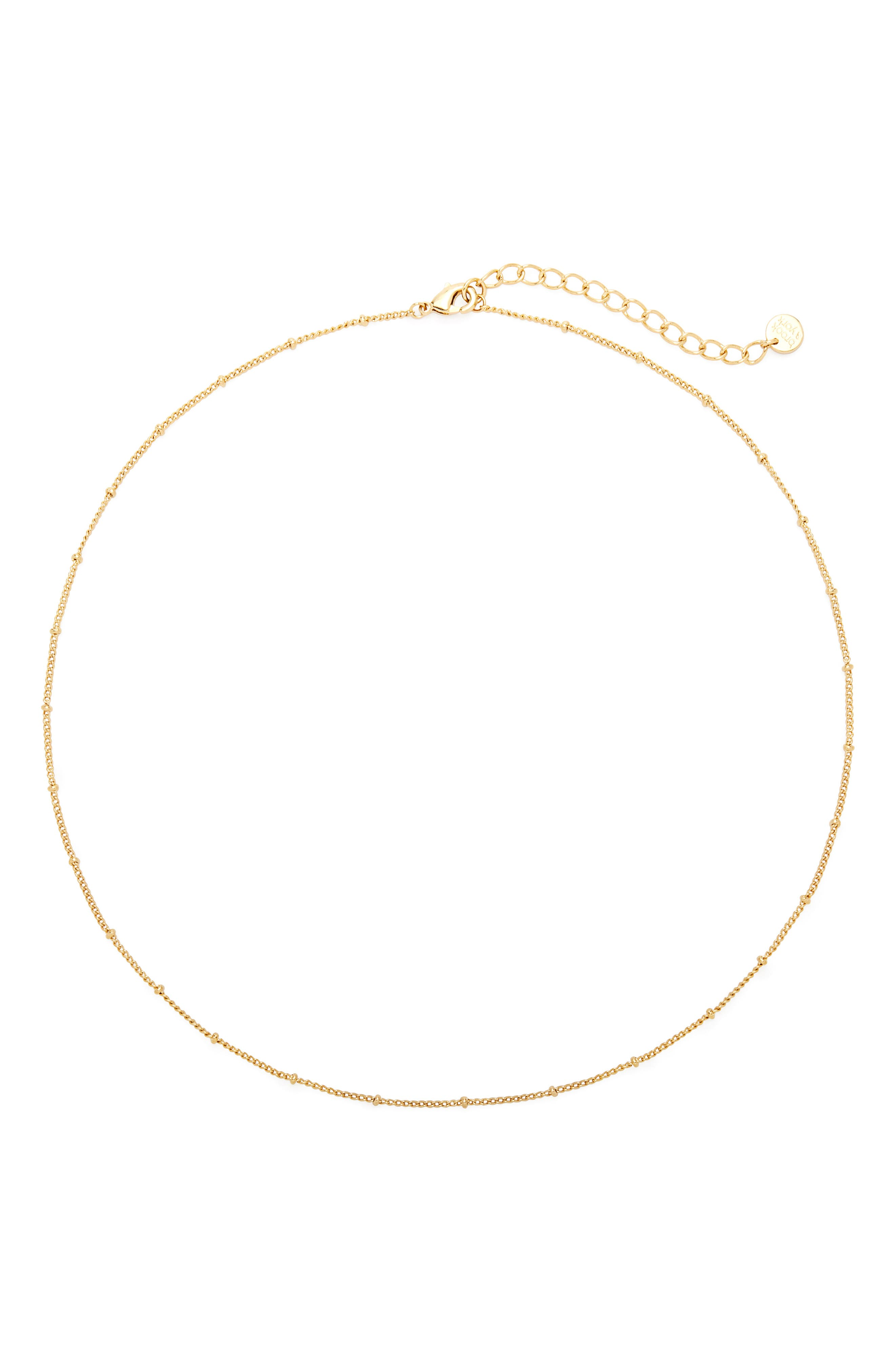 Madeline Beaded Chain Necklace