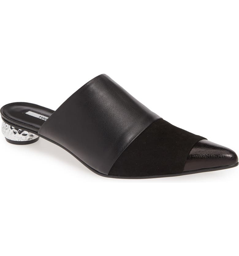 YUUL YIE Adora Pointy Toe Mule, Main, color, 002