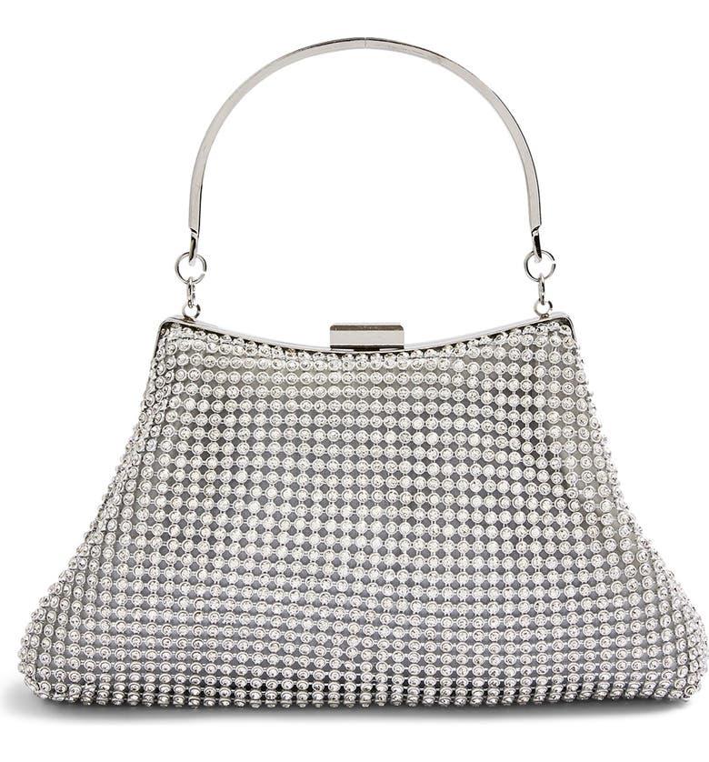 TOPSHOP Diamante Handbag, Main, color, 040