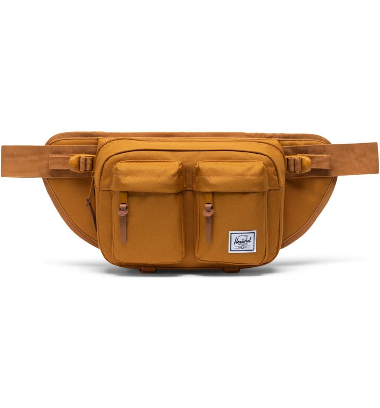HERSCHEL SUPPLY CO. Eighteen Hip Pack, Main, color, BUCKTHORN BROWN
