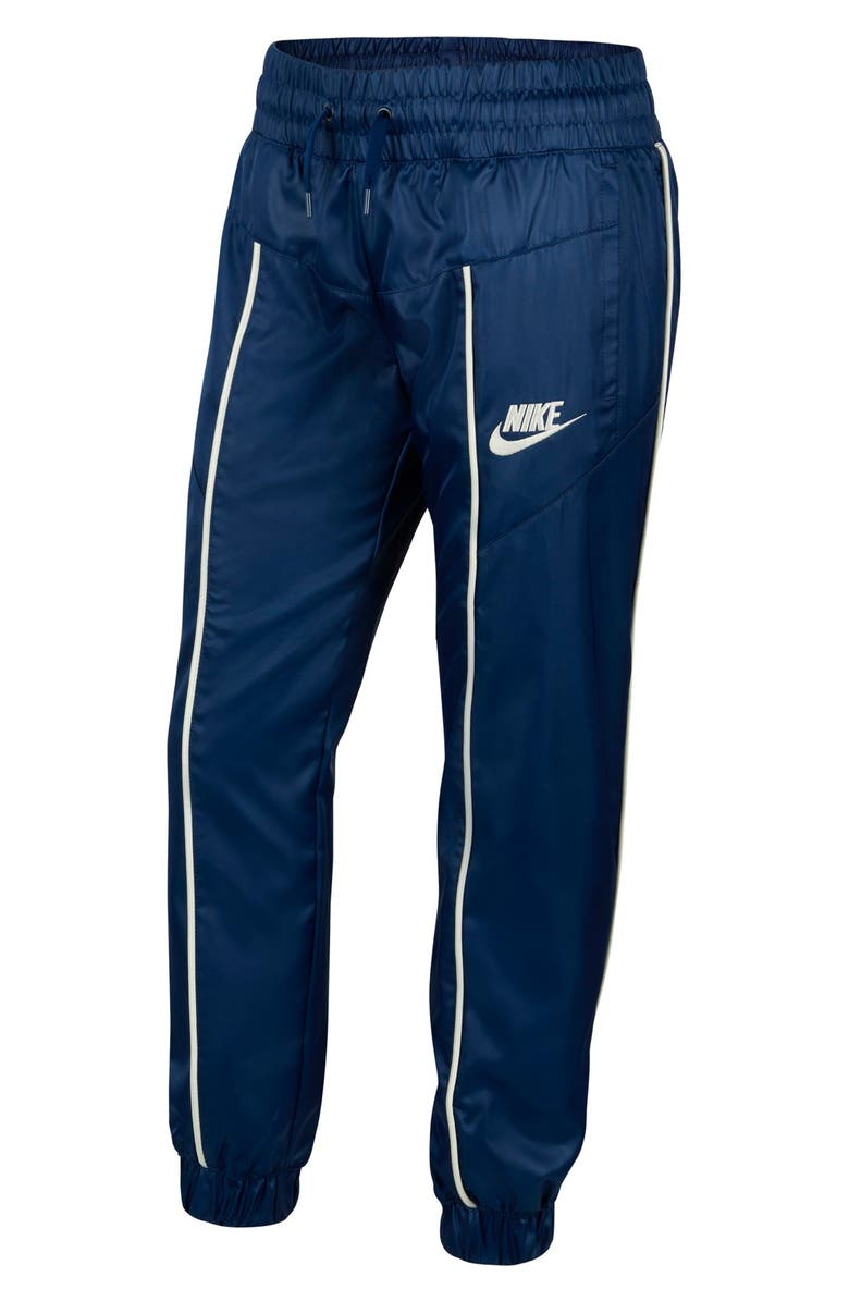 NIKE Sportswear Track Pants, Main, color, BLUE VOID/ SAIL/ SAIL
