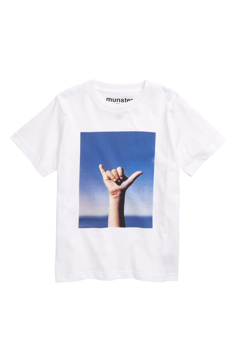 MUNSTERKIDS Loose Graphic T-Shirt, Main, color, 100