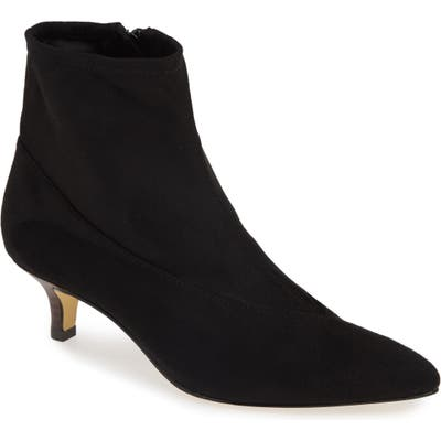 Bella Vita Stephanie Ii Stretch Bootie, WW - Black
