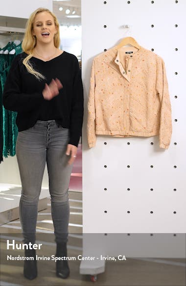 Corsica Pleated & Smocked Silk Jacket, sales video thumbnail