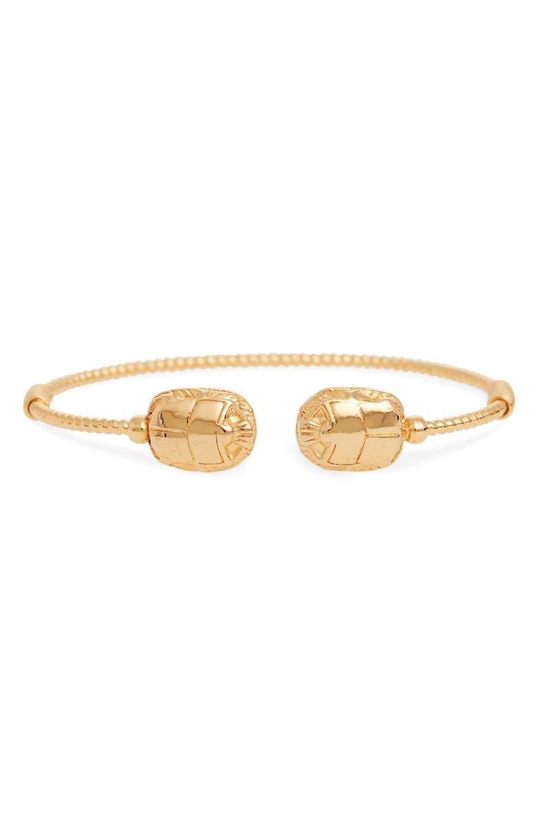 GAS BIJOUX Duality Scaramouche Cuff Bracelet, Main, color, 710