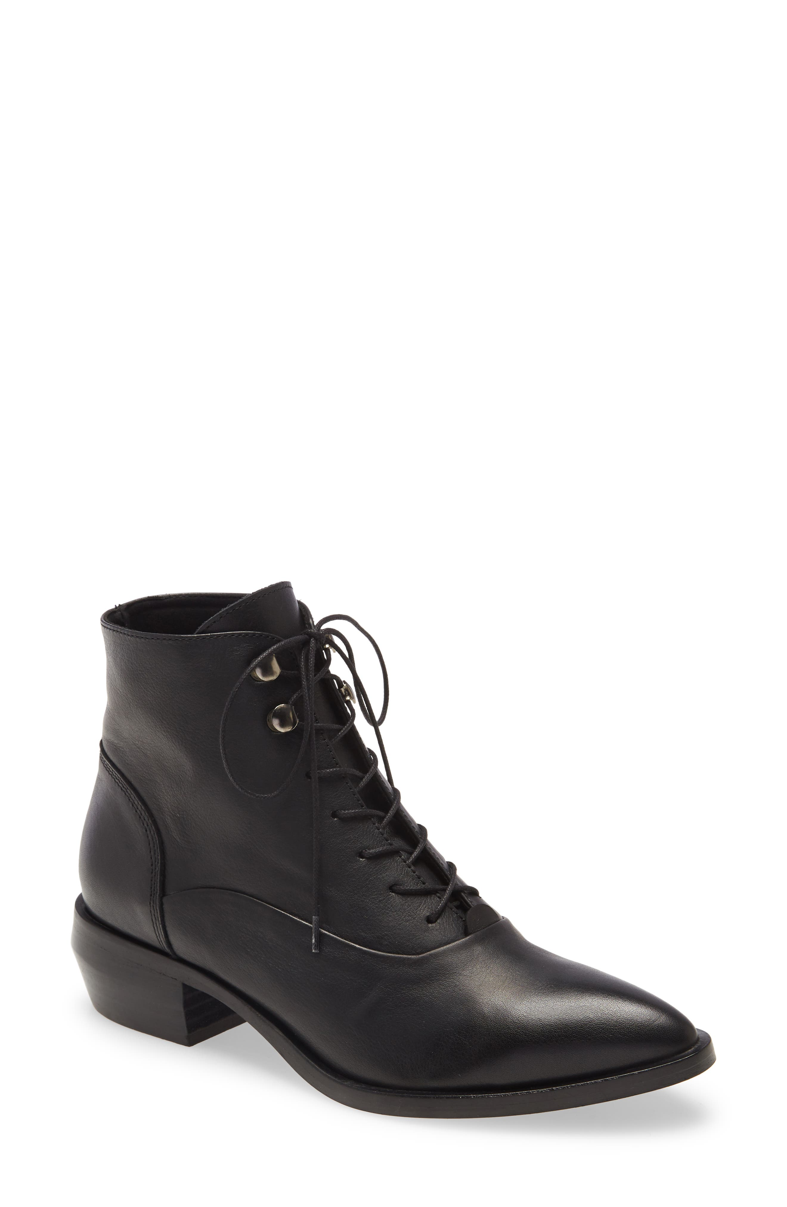 West Leather Bootie