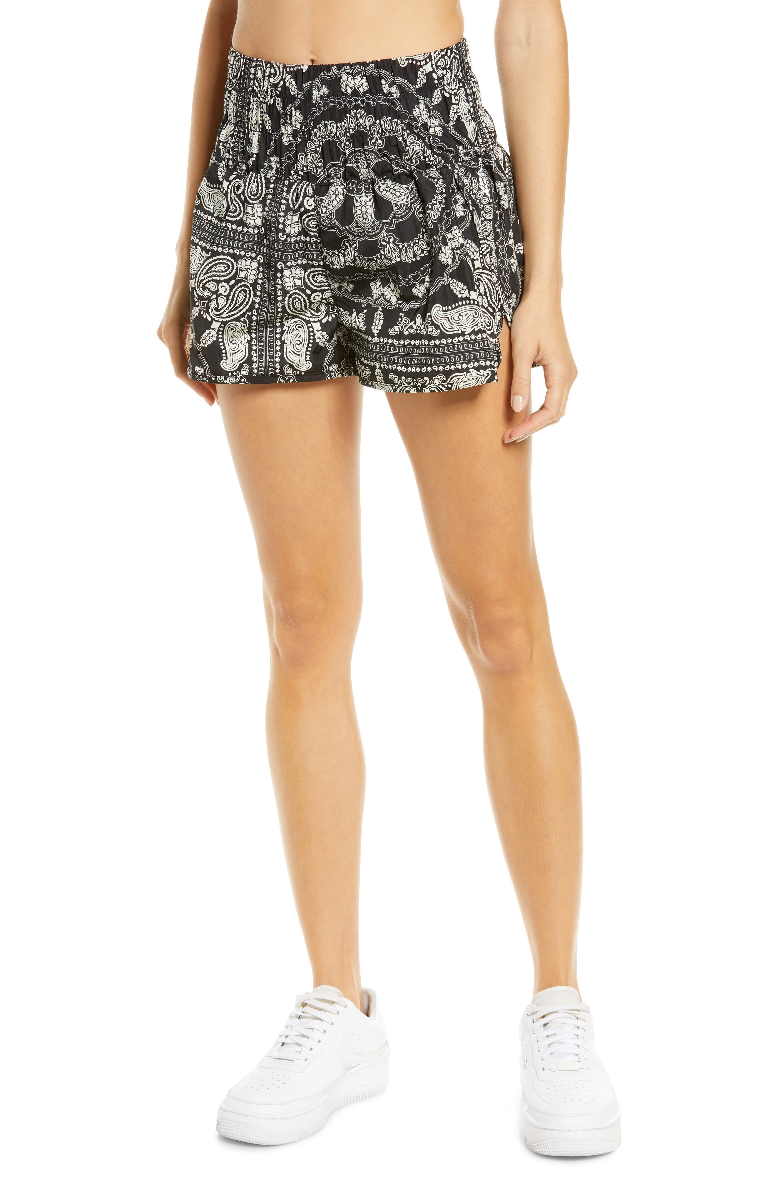 Women's Free People Fp Printed Way Home Shorts