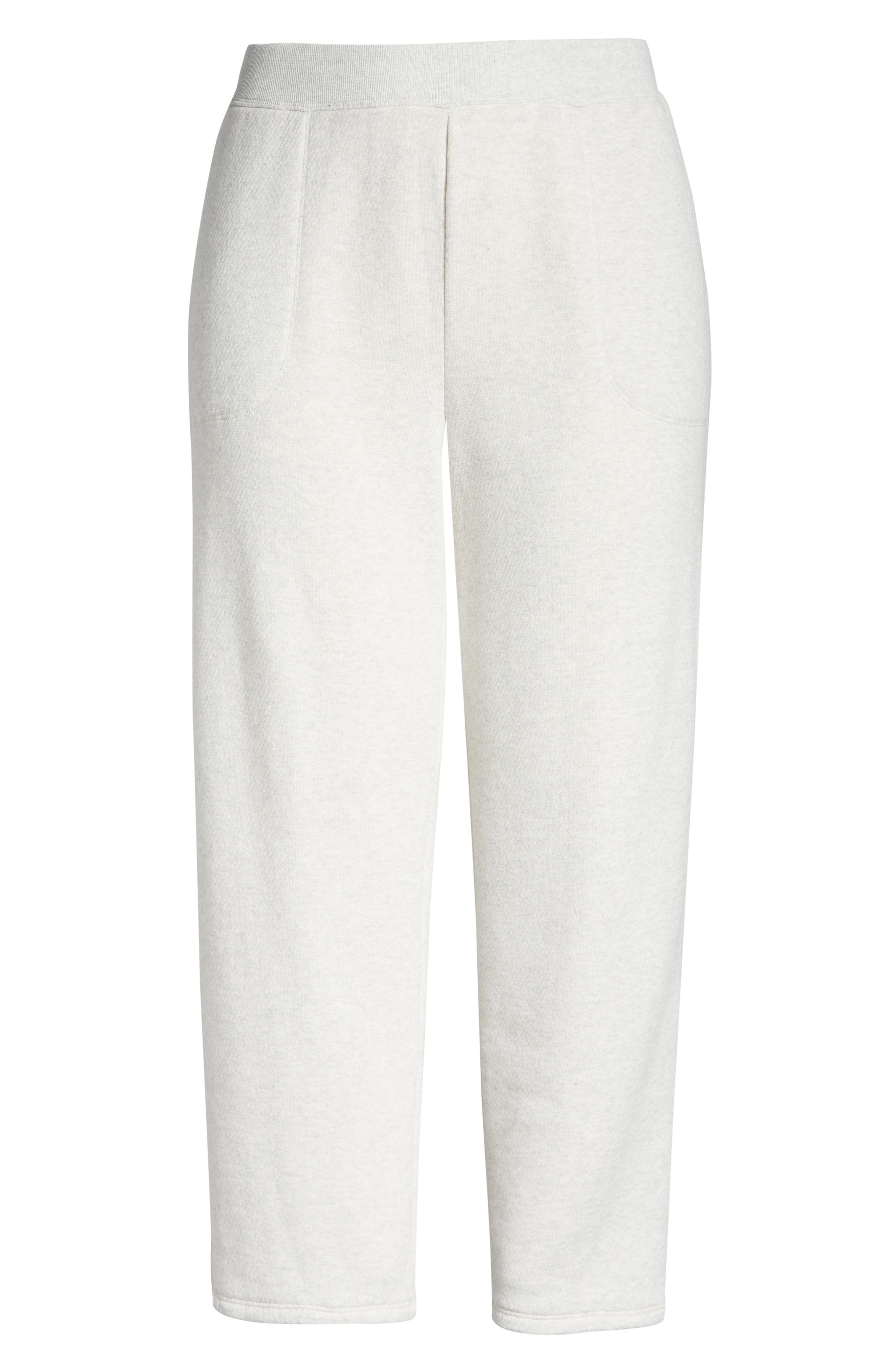 Plus Women's Madewell Mwl Airyterry Stitched Pocket Tapered Sweatpants