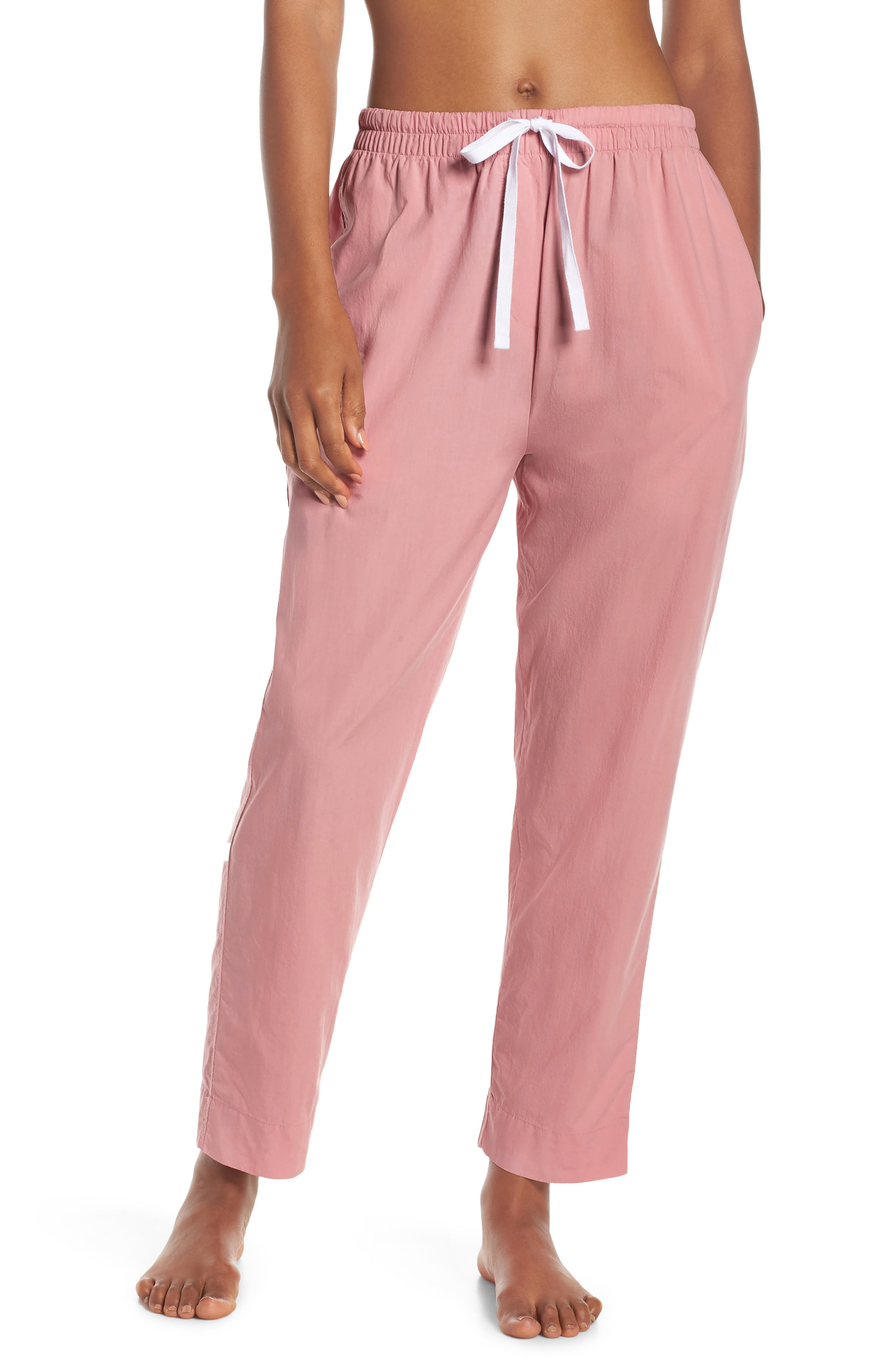 Papinelle Whale Beach Pajama Pants, Pink