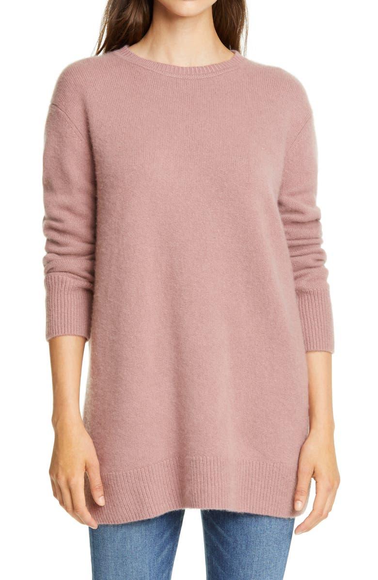 Nordstrom Signature Cashmere Tunic Sweater   Nordstrom