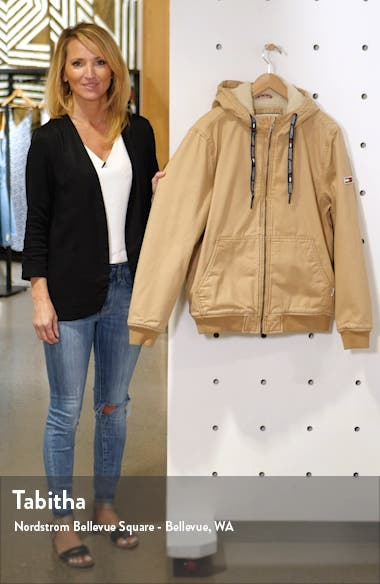 TJM Fleece Lined Hooded Jacket, sales video thumbnail