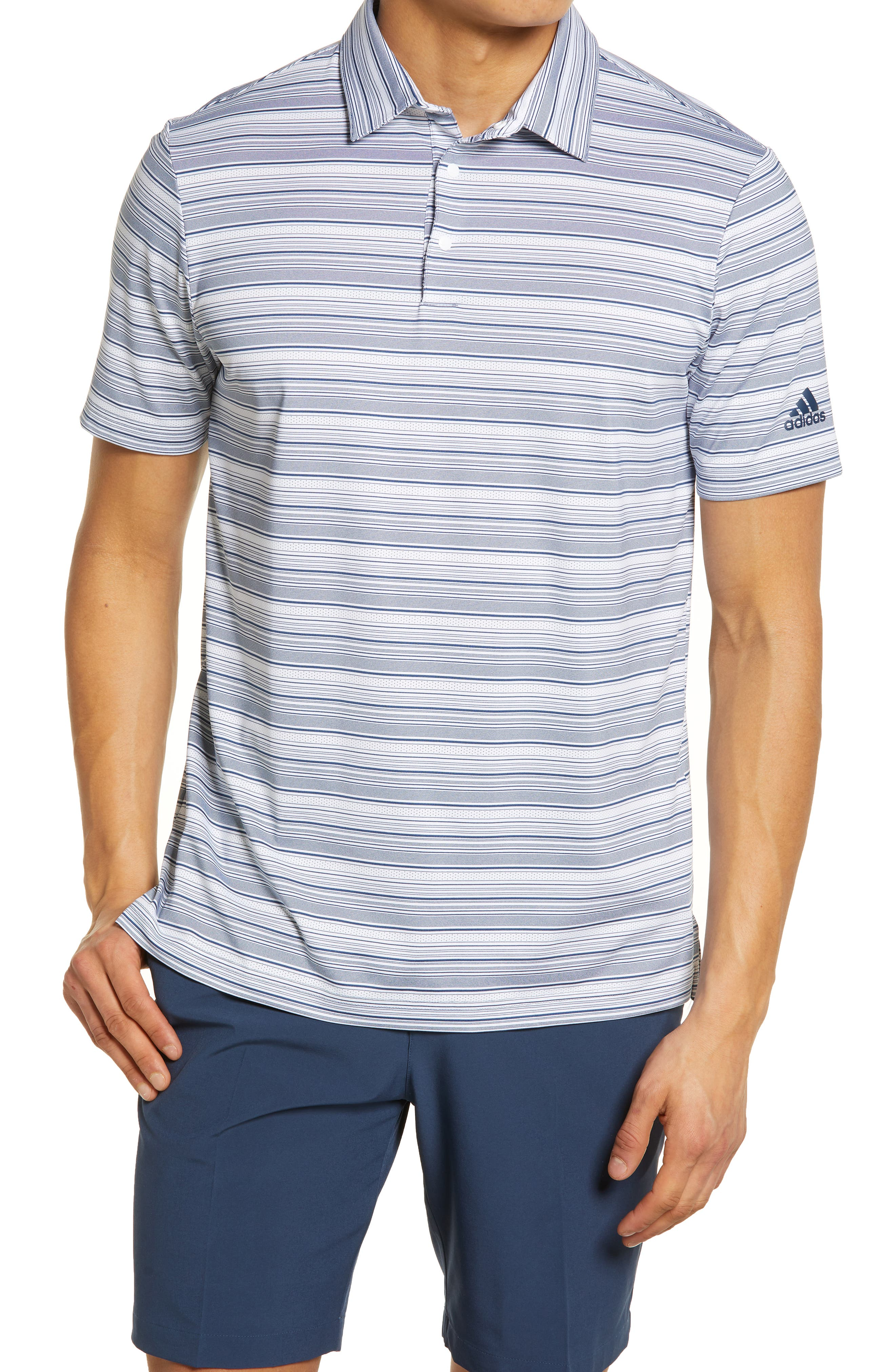Stripe Golf Polo