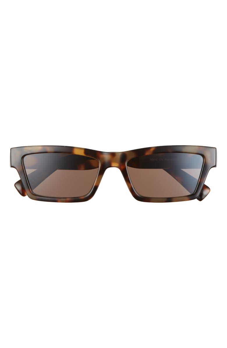 BP. Rectangle Sunglasses, Main, color, TORTOISE
