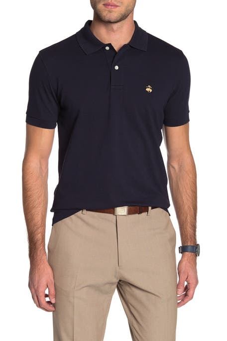 Brooks Brothers - Solid Pique Slim Fit Polo