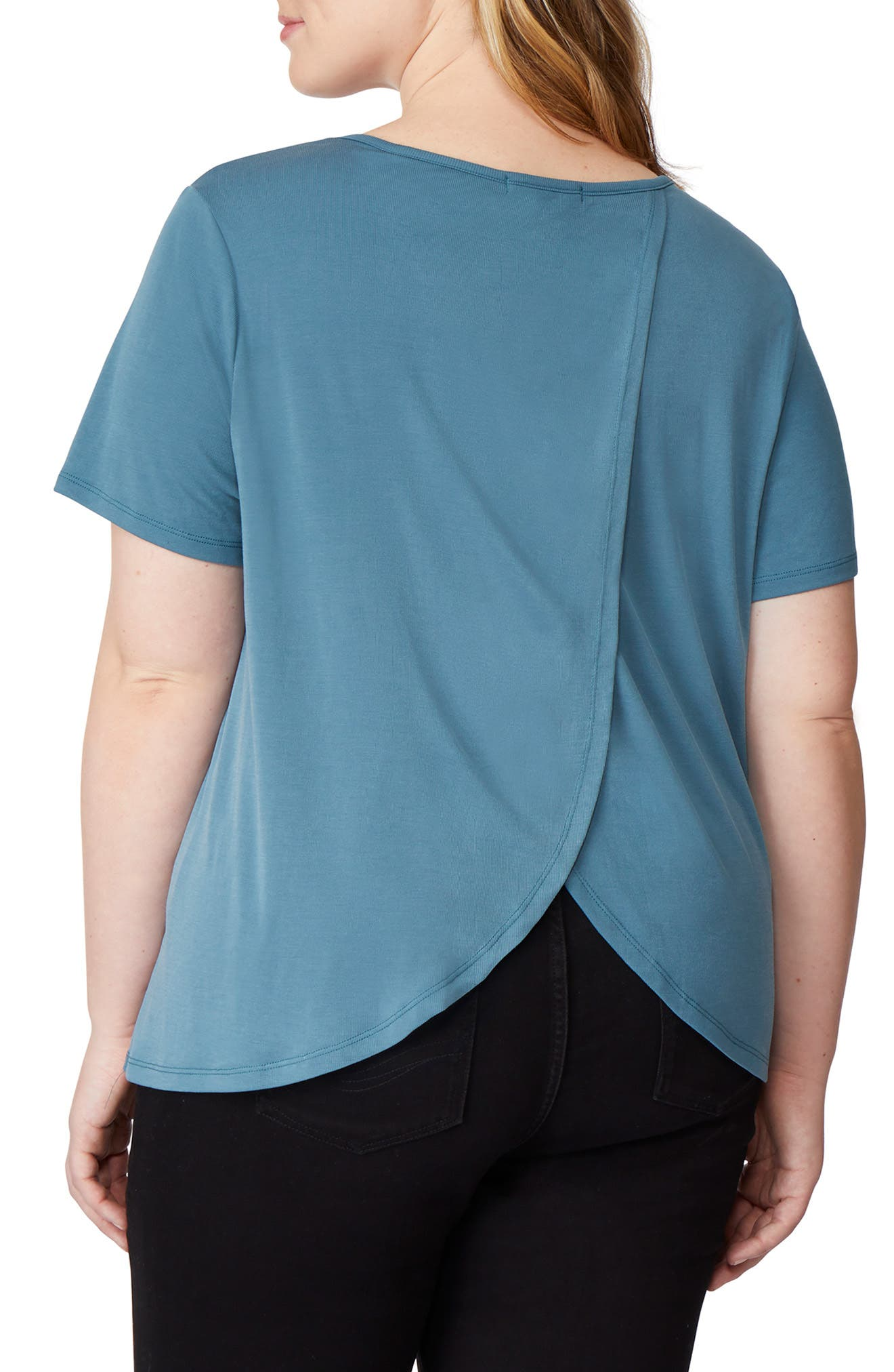 ,                             Tulip Back Tee,                             Alternate thumbnail 2, color,                             TAPESTRY