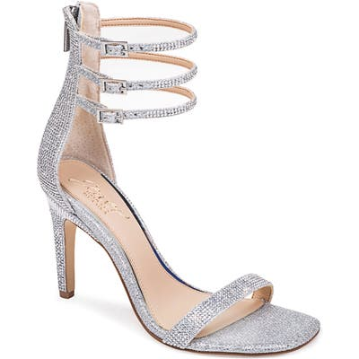 Jewel Badgley Mischka Regina Ankle Strap Sandal