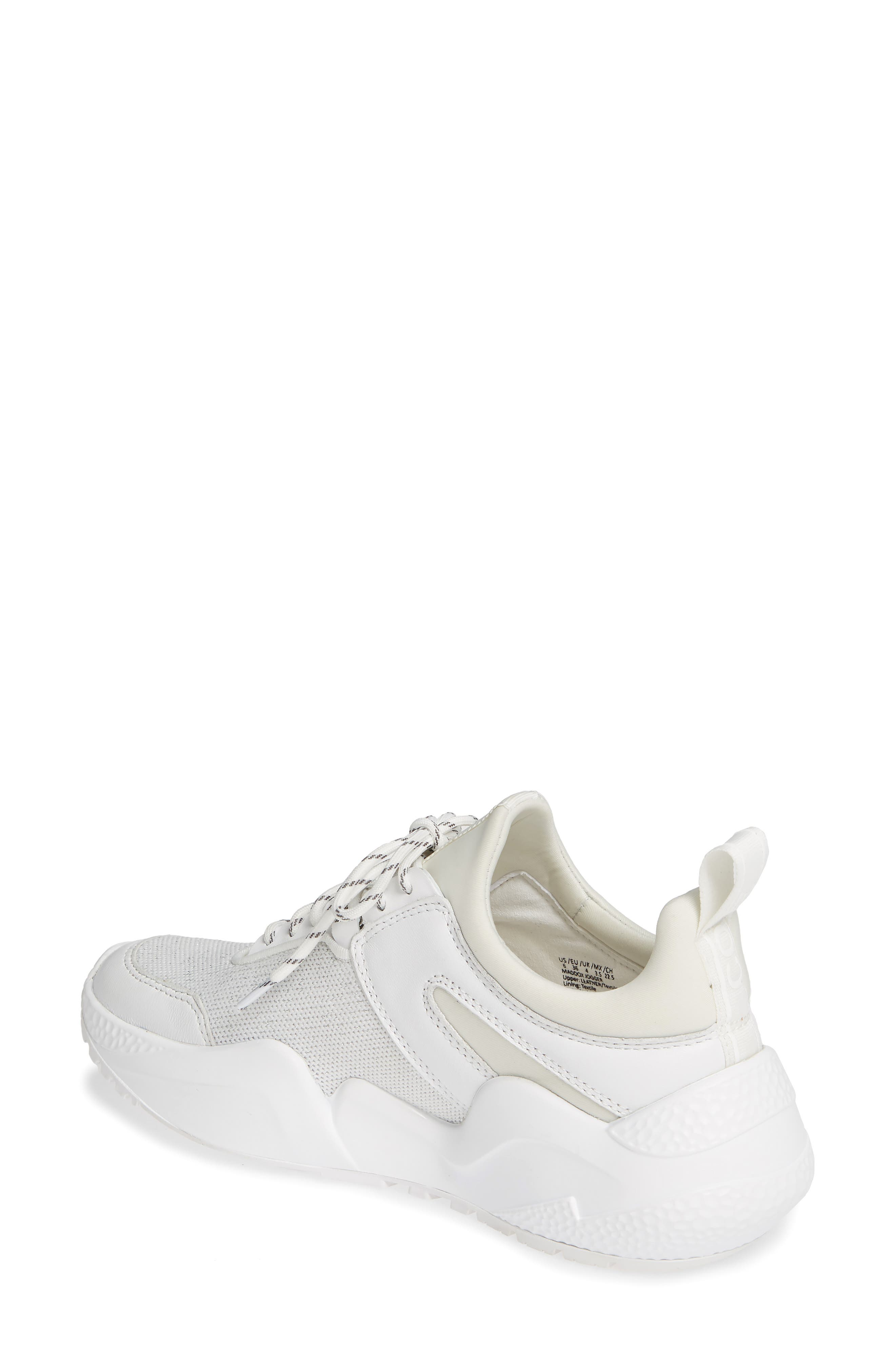 ,                             Maddox Sneaker,                             Alternate thumbnail 2, color,                             WHITE KNIT