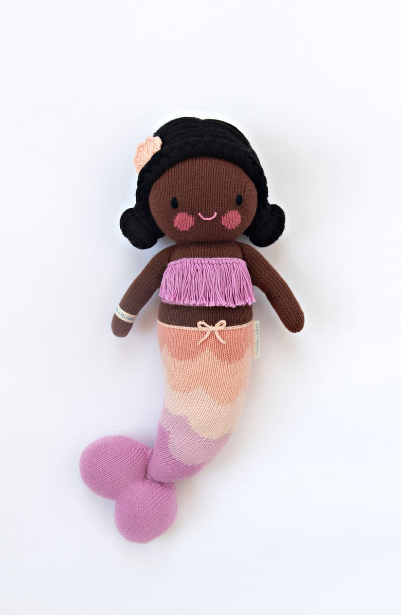 CUDDLE+KIND cuddle + kind Maya the Mermaid Stuffed Animal, Main, color, PURPLE