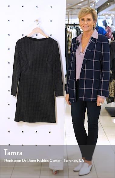 Kamillina Long Sleeve Houndstooth Dress, sales video thumbnail