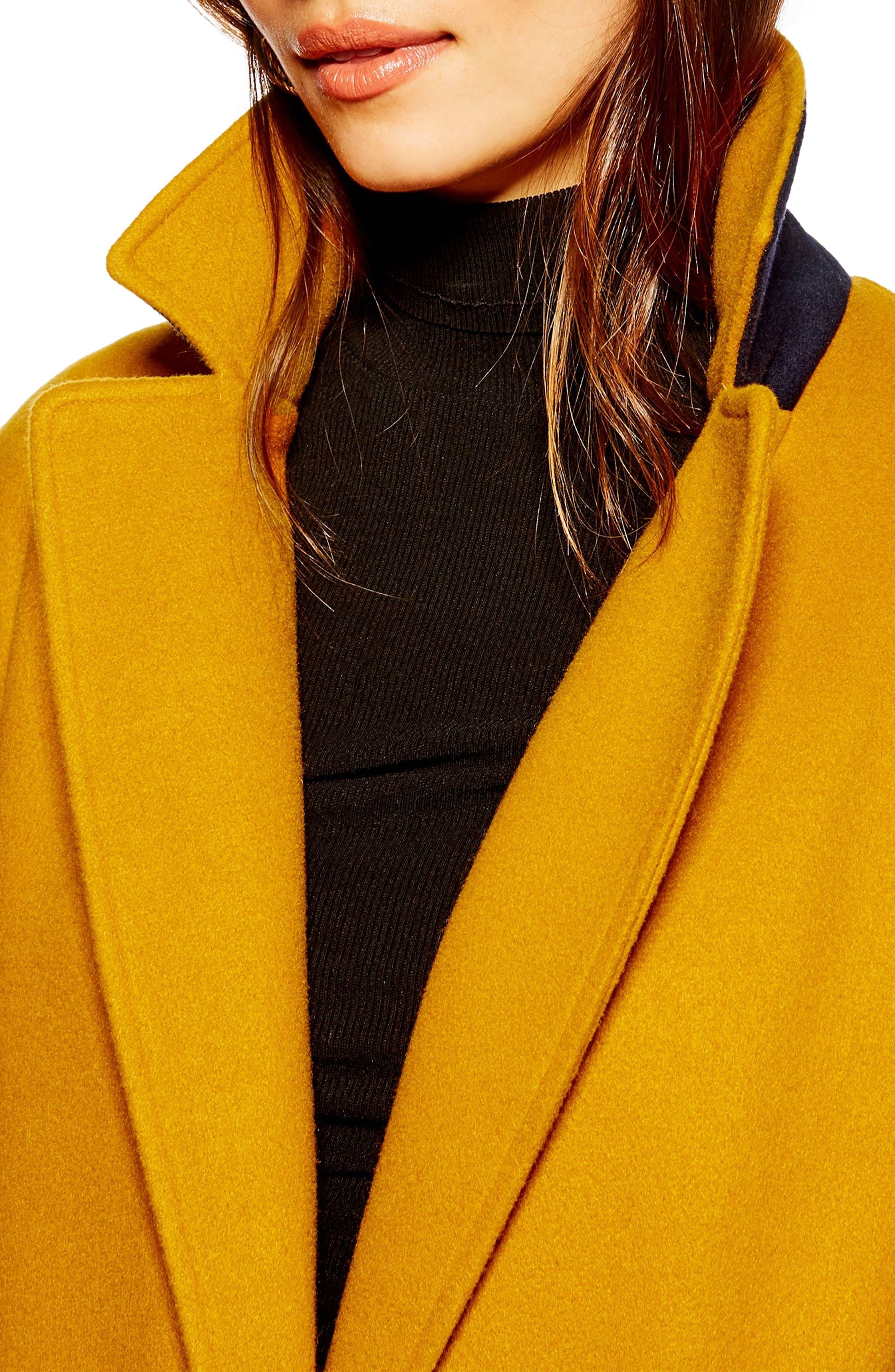 ,                             Lily Knit Back Midi Coat,                             Alternate thumbnail 9, color,                             701