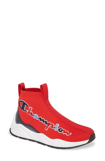 Image of Champion Rally Knit Stretch Sock Sneaker