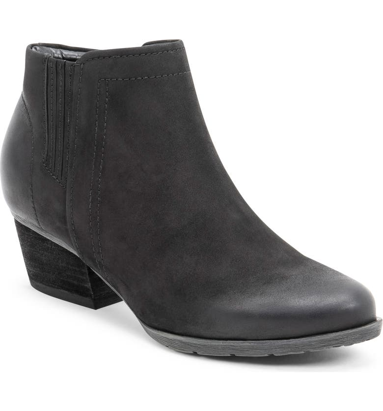 BLONDO Valli 2.0 Waterproof Bootie, Main, color, BLACK NUBUCK
