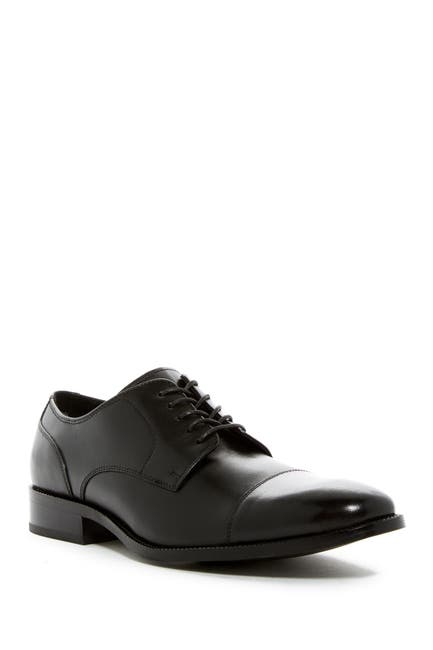 Image of Cole Haan Benton II Leather Cap Toe Derby - Wide Width Available