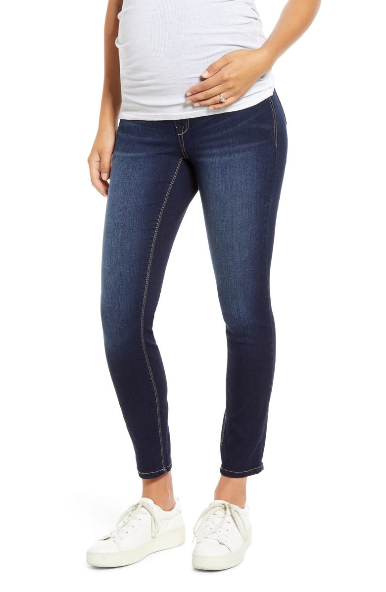 1822 DENIM Re:Denim Ankle Skinny Maternity Jeans, Main, color, RAQUEL