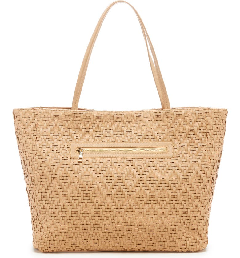 Ashby Woven Tote, Alternate, color, CAMEL