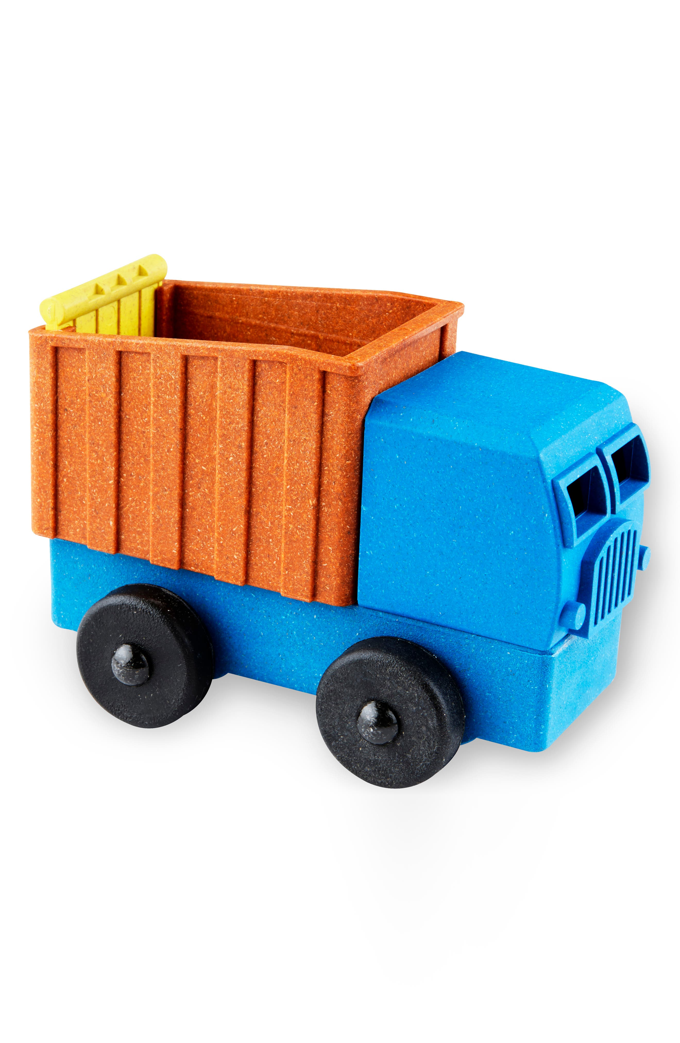 Boys Lukes Toy Factory Educational 4Piece Puzzle Dump Truck Toy
