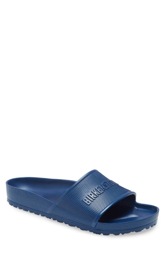 Birkenstock Men's Barbados Slide Sandals From Finish Line In Navy