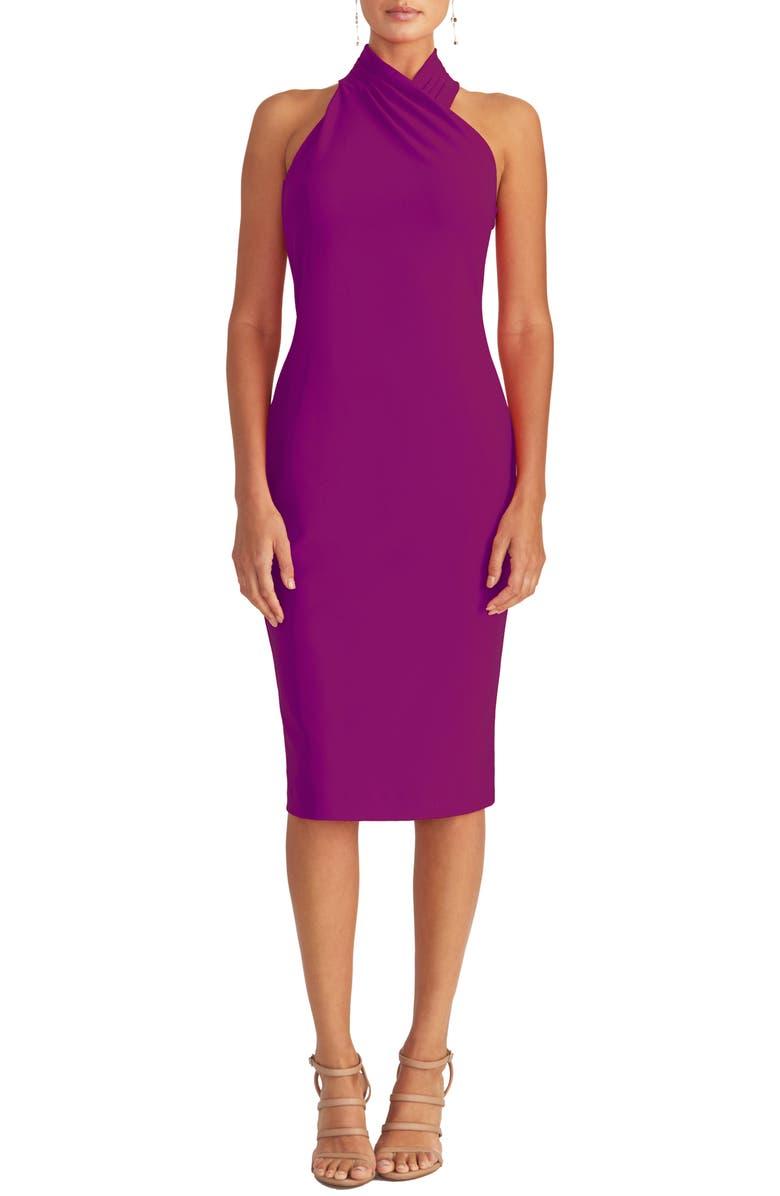 RACHEL RACHEL ROY Harland Halter Dress, Main, color, VIBRANT ORCHID