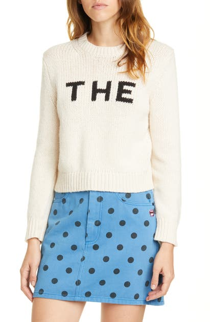 Marc By Marc Jacobs The Marc Jacobs The Sweater In Ivory