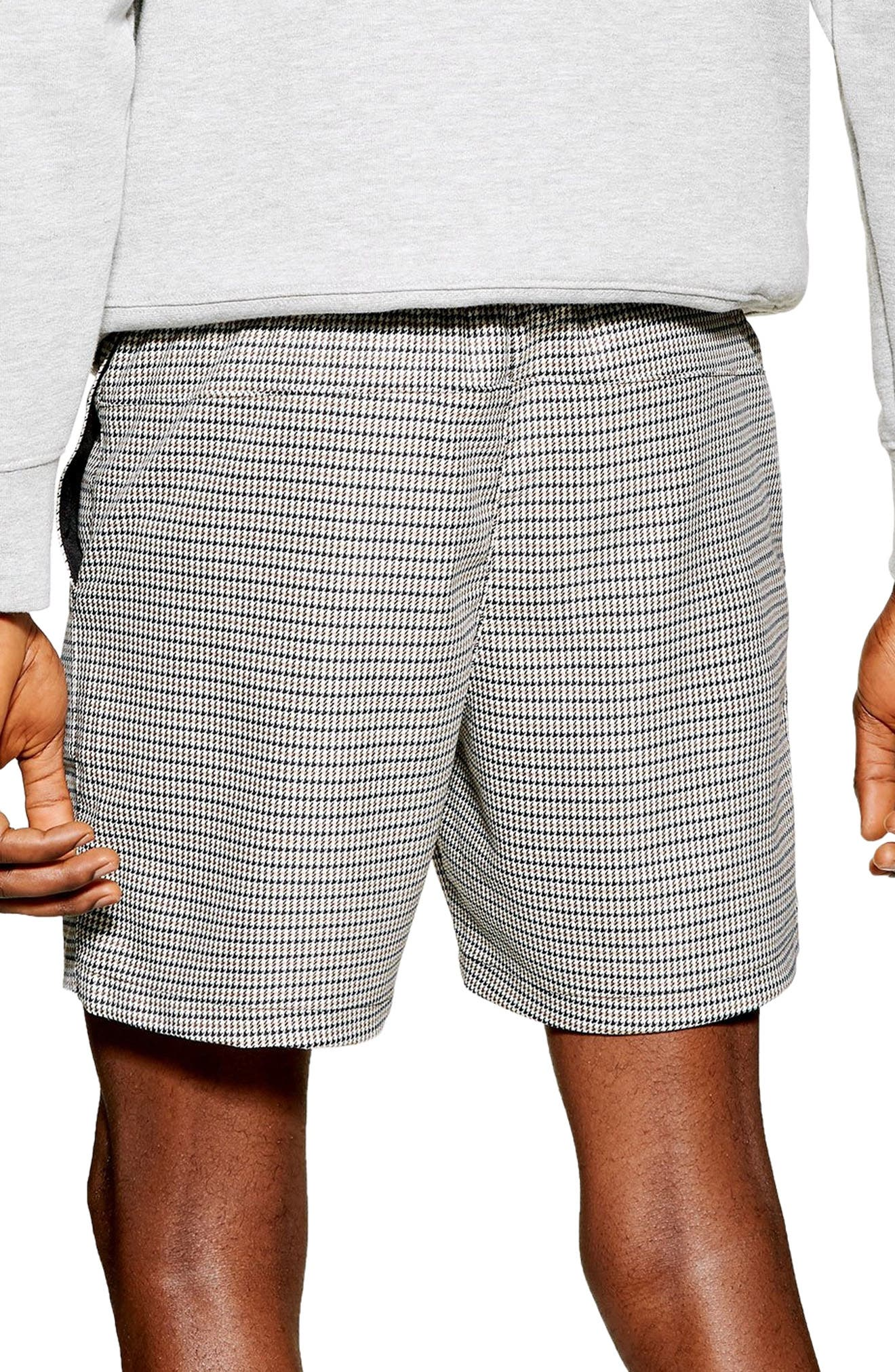 ,                             Puptooth Pull-On Shorts,                             Alternate thumbnail 2, color,                             GREY MULTI