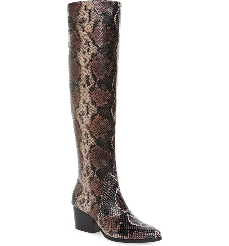VINCE CAMUTO Nestel Knee High Boot, Main, color, MAUVE MULTI