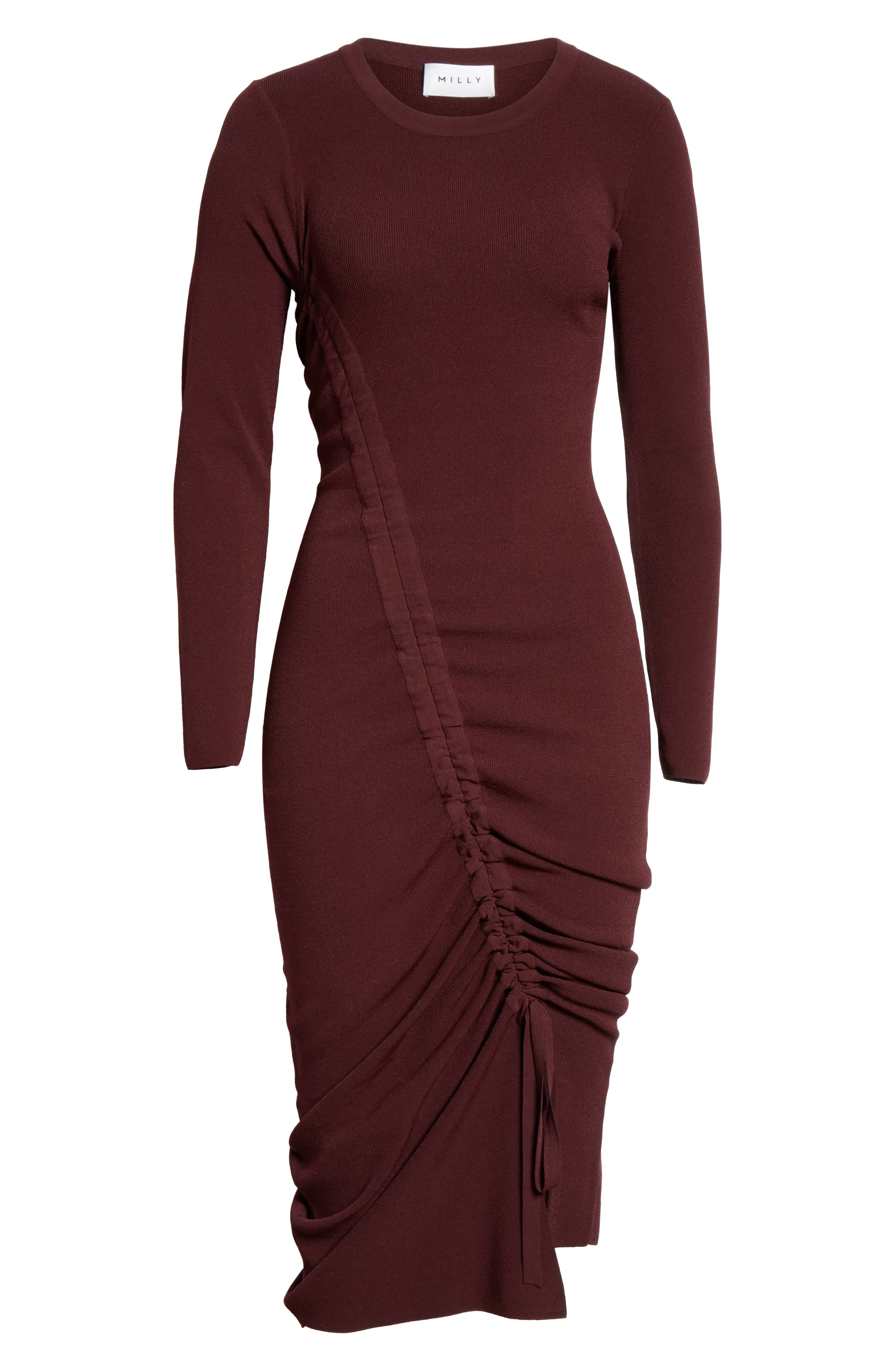 ,                             Diagonal Ruched Tunnel Dress,                             Alternate thumbnail 25, color,                             930