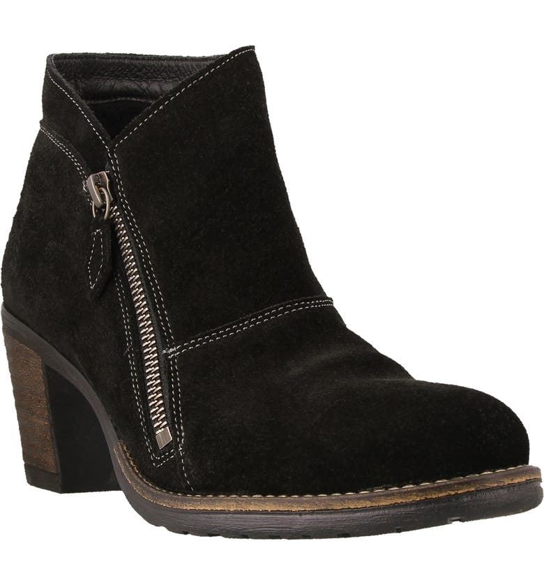 TAOS Billie Bootie, Main, color, BLACK LEATHER