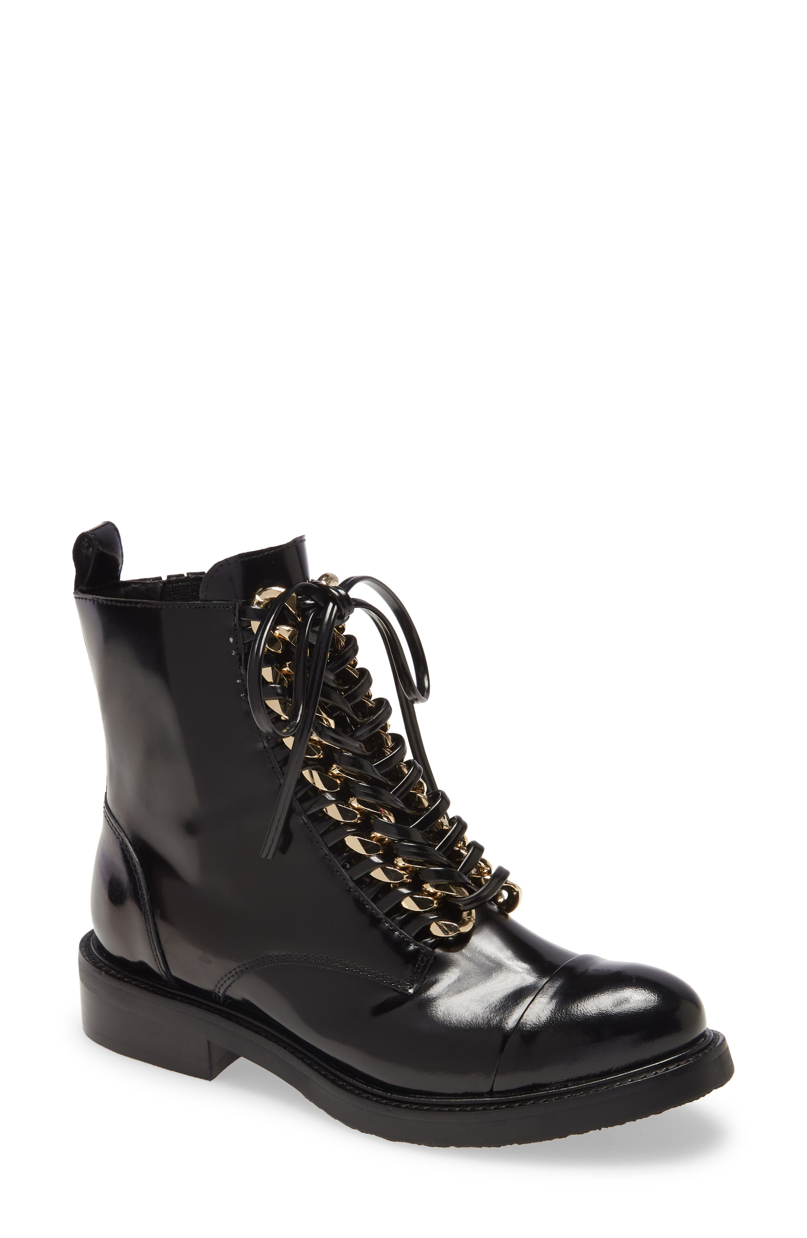 Damon Lace-Up Bootie