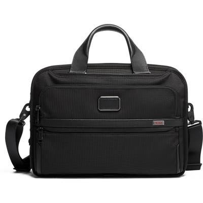 Tumi Alpha 3 Triple Compartment Briefcase - Black