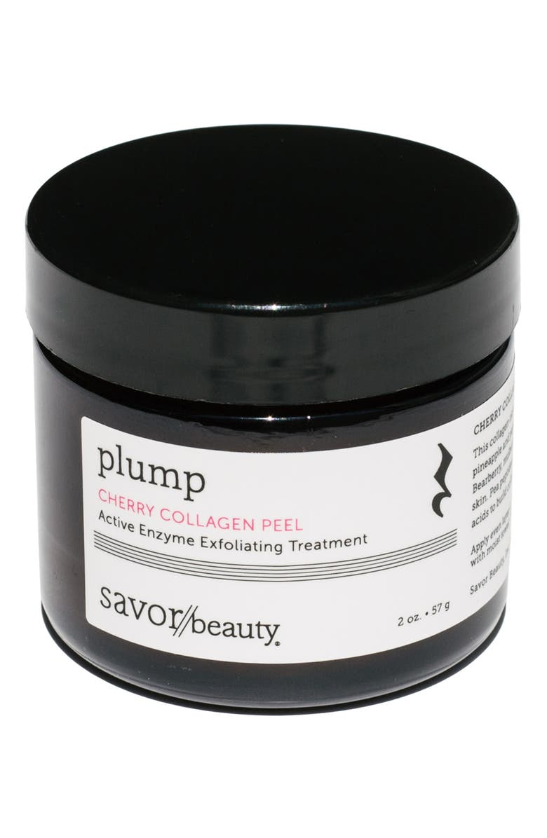 SAVOR BEAUTY Cherry Collagen Peel Active Enzyme Exfoliating Treatment, Main, color, NO COLOR