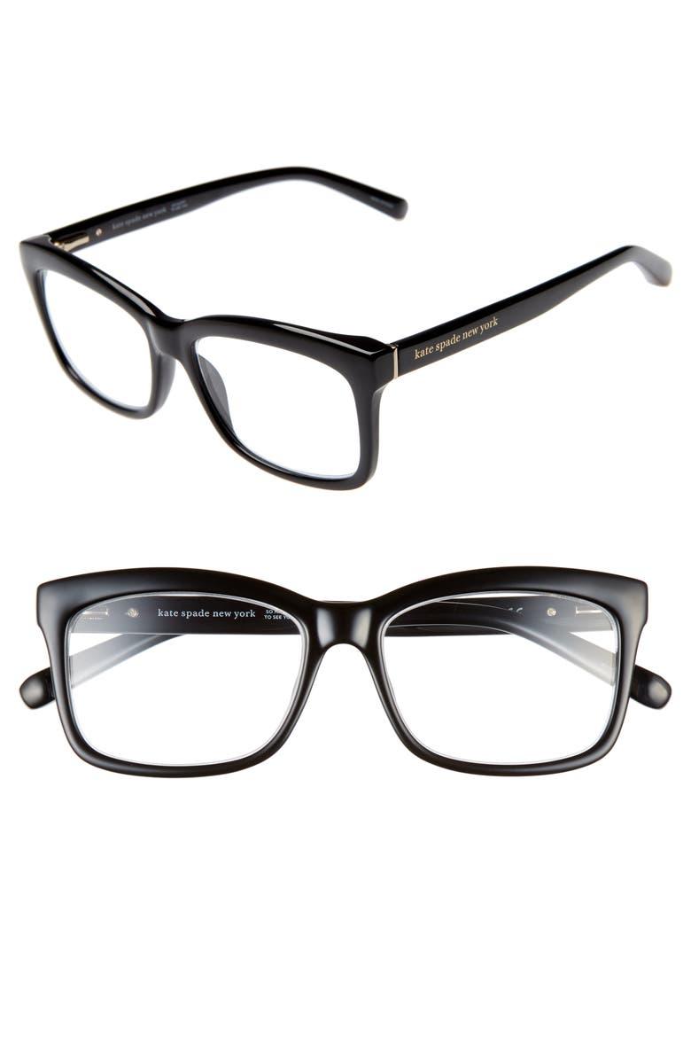 bc2ad1150d55 kate spade new york dollie 53mm reading glasses | Nordstrom