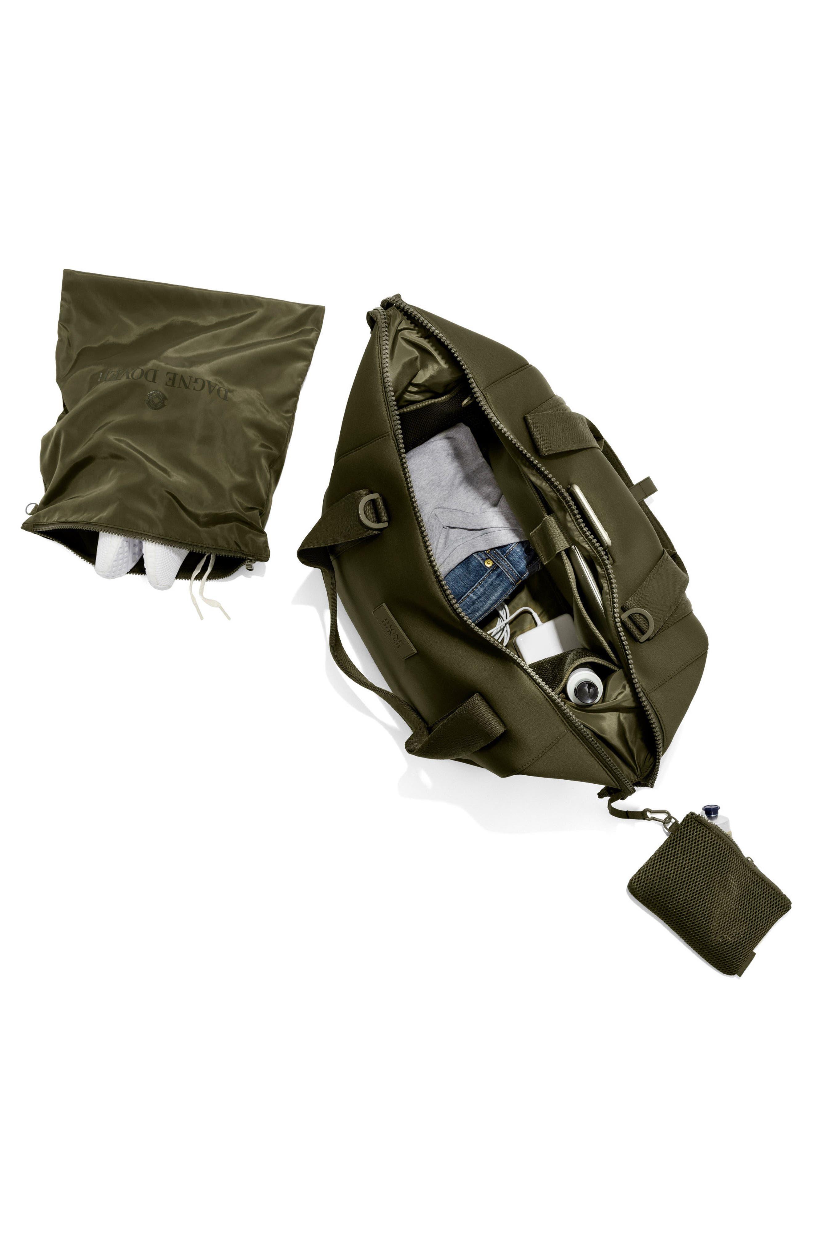 ,                             365 Large Landon Neoprene Carryall Duffle Bag,                             Alternate thumbnail 3, color,                             DARK MOSS