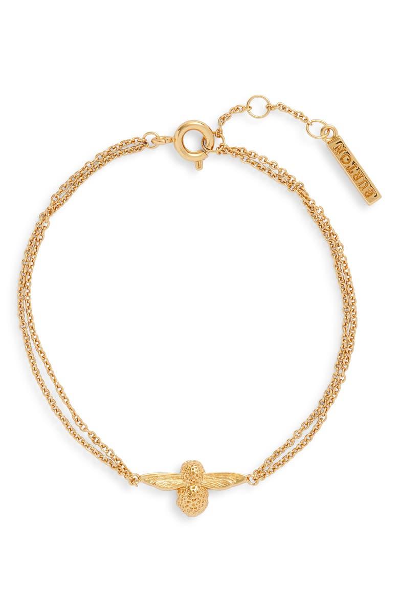 OLIVIA BURTON Bee Chain Bracelet, Main, color, 710