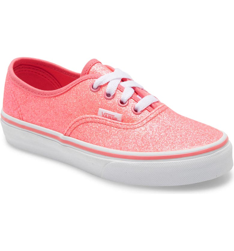 VANS Authentic Glitter Low Top Sneaker, Main, color, 660