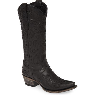Lane Boots Robin Western Boot, Black
