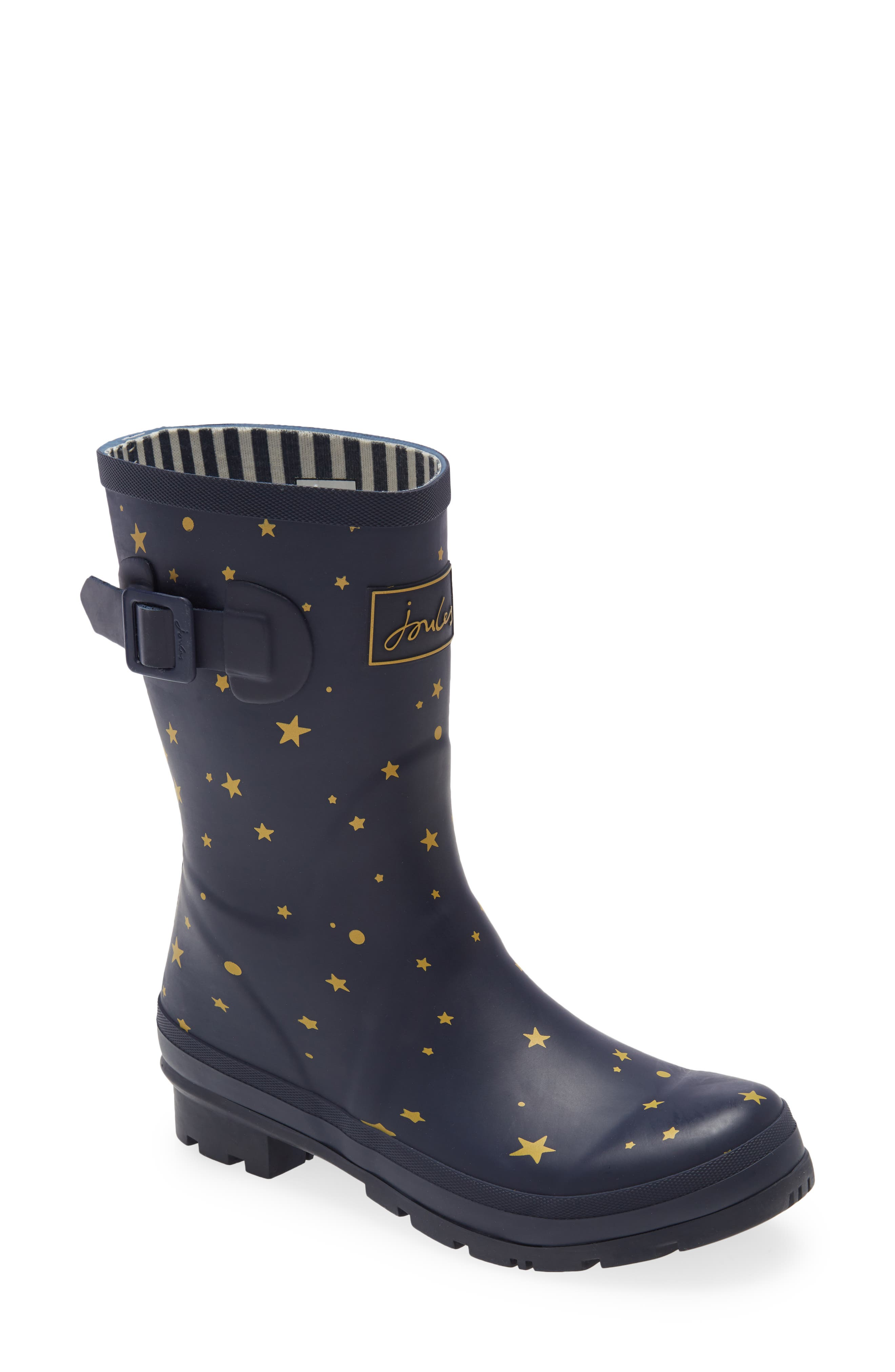 Molly Floral Print Welly Waterproof Rain Boot